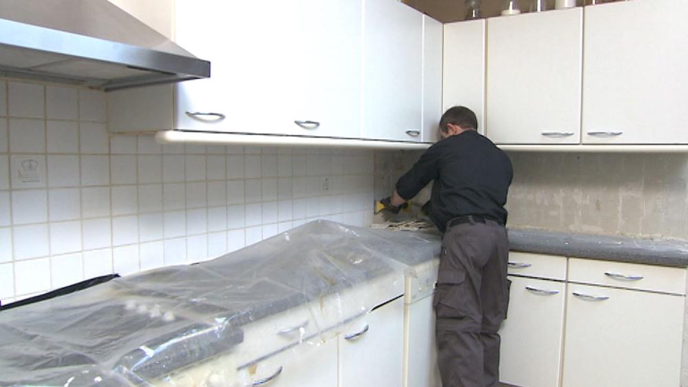 ≥ oude keuken hout zelf demonteren afhalen op december