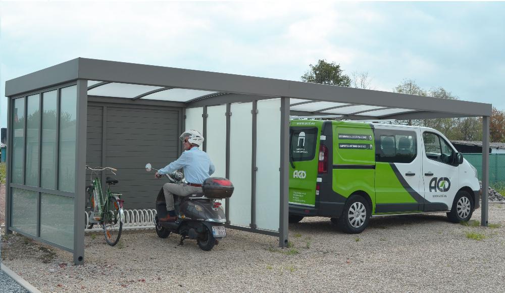 Overkapping Voor Auto : Carport plaatsen company corner dobbit