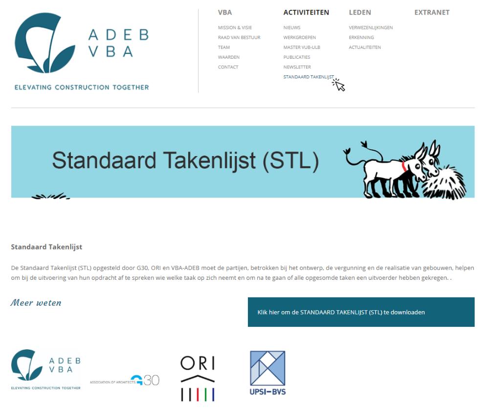 4adb1b25ac7 VBA stelt nieuwe Standaard Takenlijst voor - Artikel - Dobbit